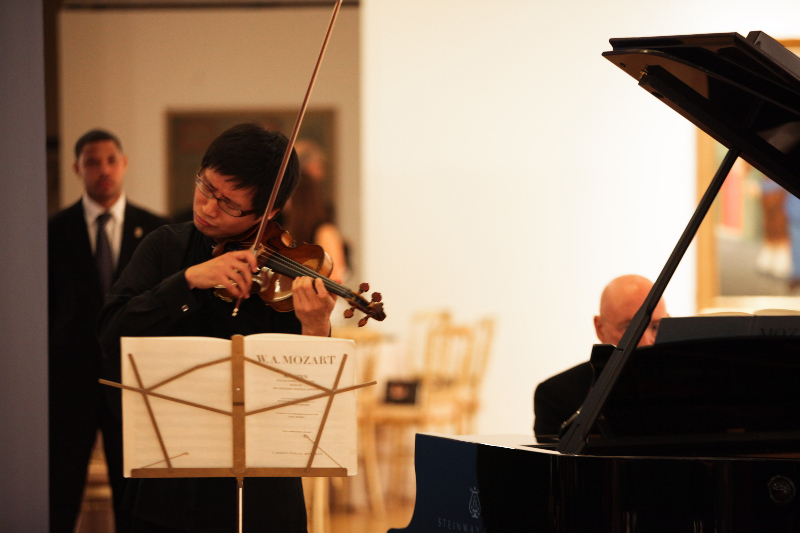 Dan Zhu, Christoph Eschenbach, Performance