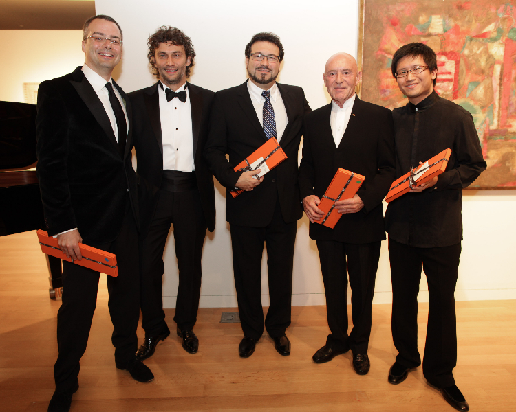 Brian Lee Moore, Johannes Kaufmann, Carlo Colombara, Christoph Eschenbach,  Dan Zhu